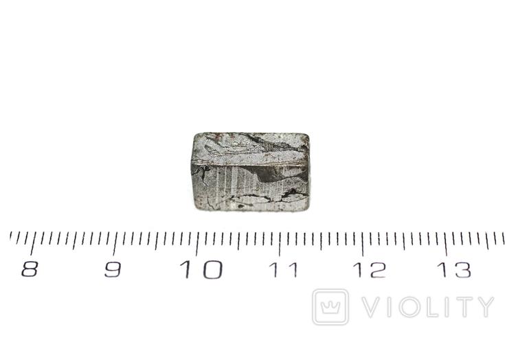 Заготовка-вставка з метеорита Seymchan, 5,3 г, із сертифікатом автентичності, фото №4