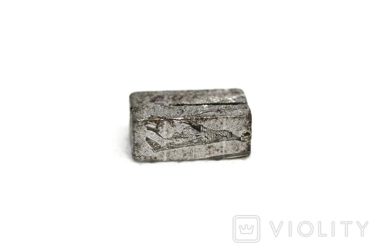 Заготовка-вставка з метеорита Seymchan, 5,3 г, із сертифікатом автентичності, фото №5