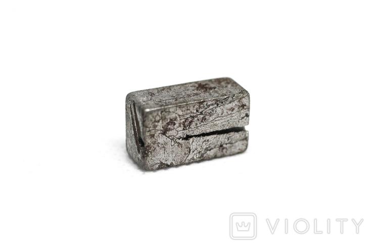 Заготовка-вставка з метеорита Seymchan, 5,3 г, із сертифікатом автентичності, фото №6
