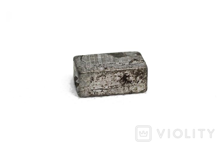 Заготовка-вставка з метеорита Seymchan, 5,3 г, із сертифікатом автентичності, фото №7