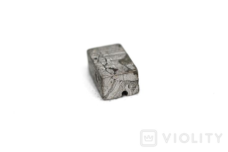 Заготовка-вставка з метеорита Seymchan, 5,3 г, із сертифікатом автентичності, фото №8