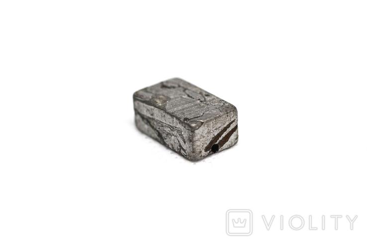 Заготовка-вставка з метеорита Seymchan, 5,3 г, із сертифікатом автентичності, фото №9