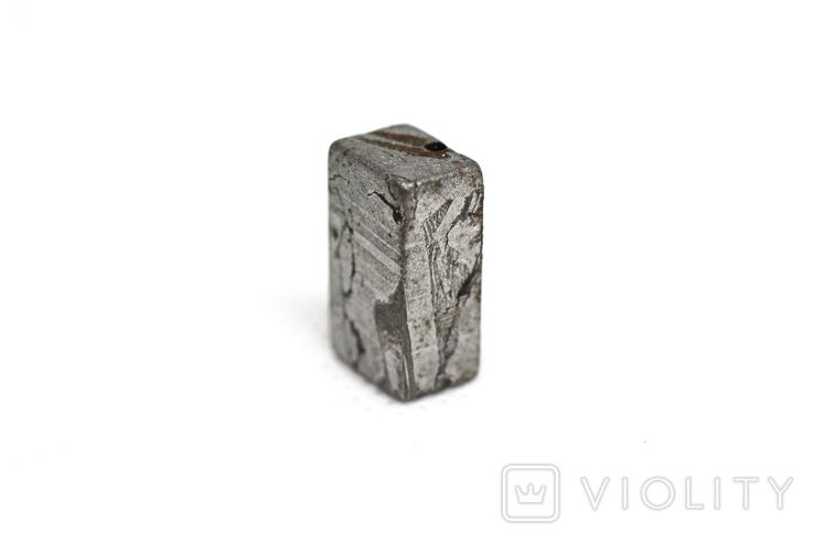 Заготовка-вставка з метеорита Seymchan, 5,3 г, із сертифікатом автентичності, фото №10
