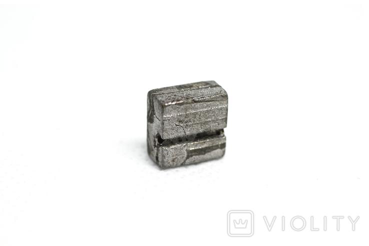 Заготовка-вставка з метеорита Seymchan, 3,0 г, із сертифікатом автентичності, фото №6