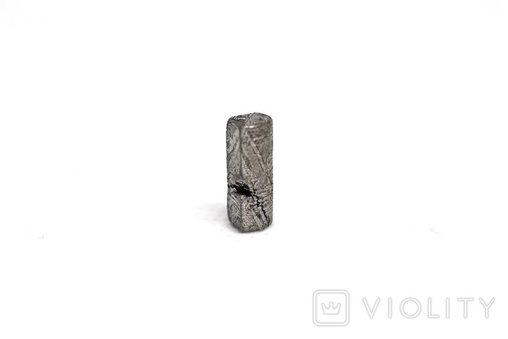 Заготовка-вставка з метеорита Seymchan, 0,92 г, із сертифікатом автентичності, фото №8