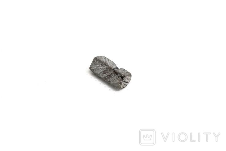 Заготовка-вставка з метеорита Seymchan, 0,92 г, із сертифікатом автентичності, фото №10
