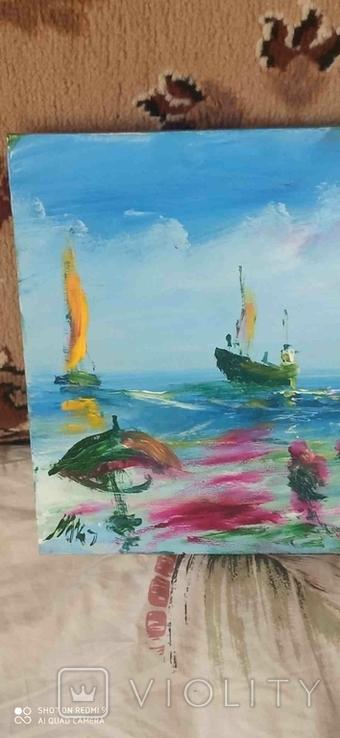 3 морские пейзажи Очакова, фото №5