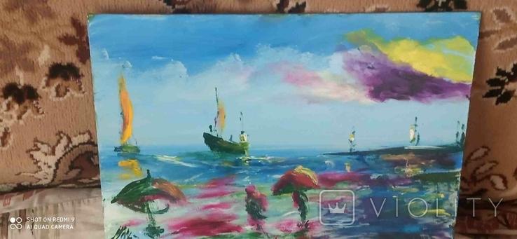 3 морские пейзажи Очакова, фото №8