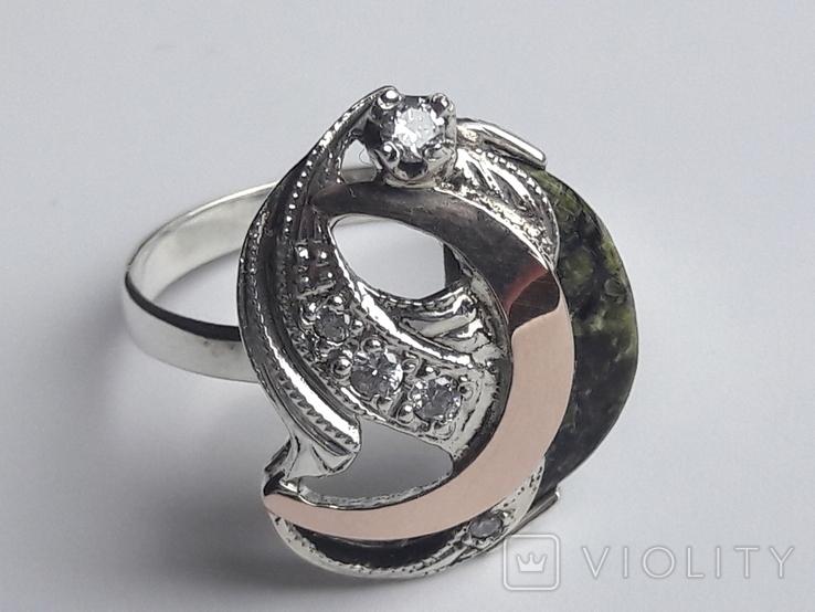 Набор (серебро, золото, камень), фото №11