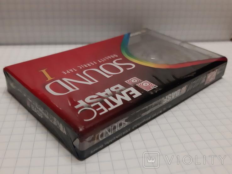 Аудиокассета BASF 90 новая (2), фото №2