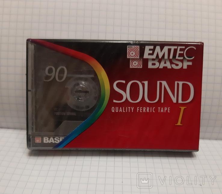Аудиокассета BASF 90 новая (2), фото №4