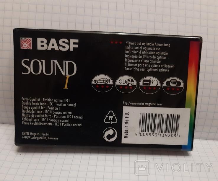 Аудиокассета BASF 90 новая (2), фото №5