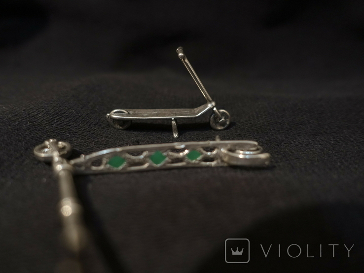 Самокат серебро 800 2 шт., фото №3