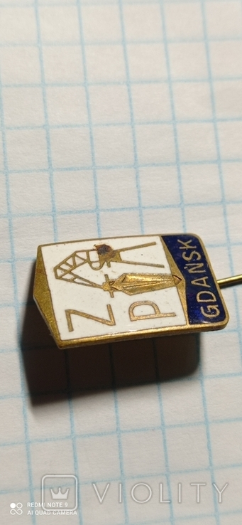 Значок GDANSK, фото №3