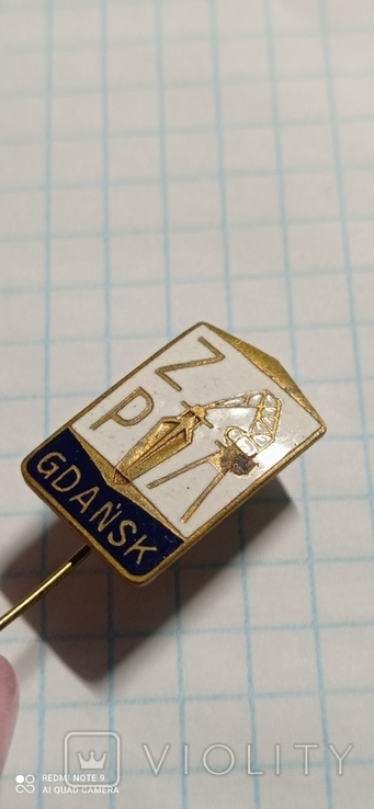 Значок GDANSK, фото №4