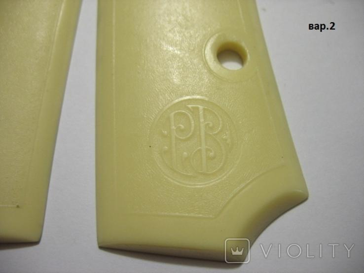 Беретта 34, накладки рукояти вар.2.  копия, фото №3