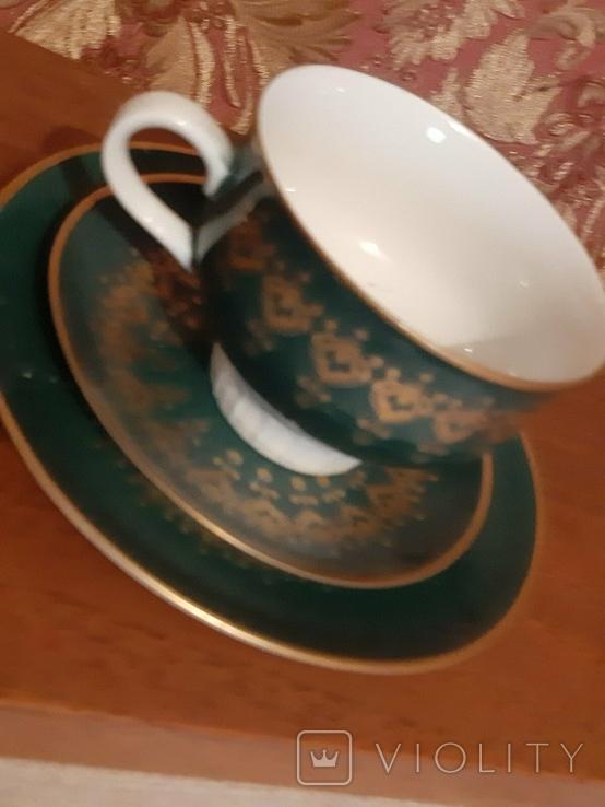 Чайная двойка ГДР 1777, фото №3