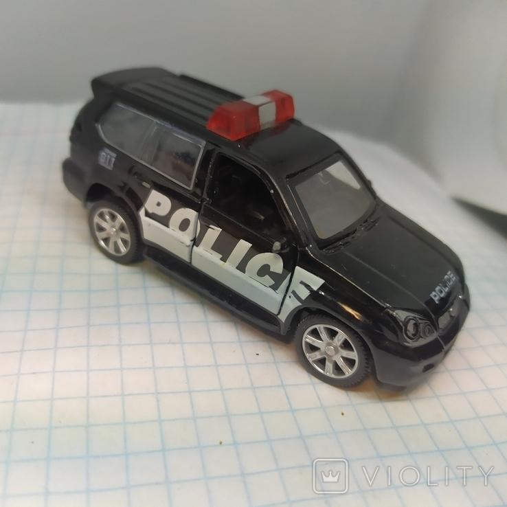 Машинка Полицейская. Police. Открываются двери. Металл  (12.20), фото №2