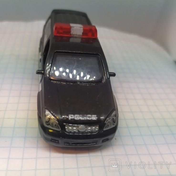 Машинка Полицейская. Police. Открываются двери. Металл  (12.20), фото №3