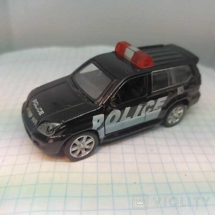 Машинка Полицейская. Police. Открываются двери. Металл  (12.20), фото №4