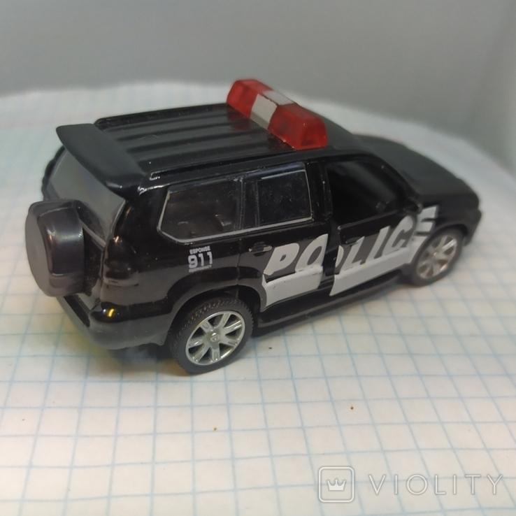 Машинка Полицейская. Police. Открываются двери. Металл  (12.20), фото №6