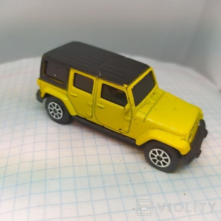 Машинка Jeep Wrangler Unlimited. Maisto  (12.20), фото №2