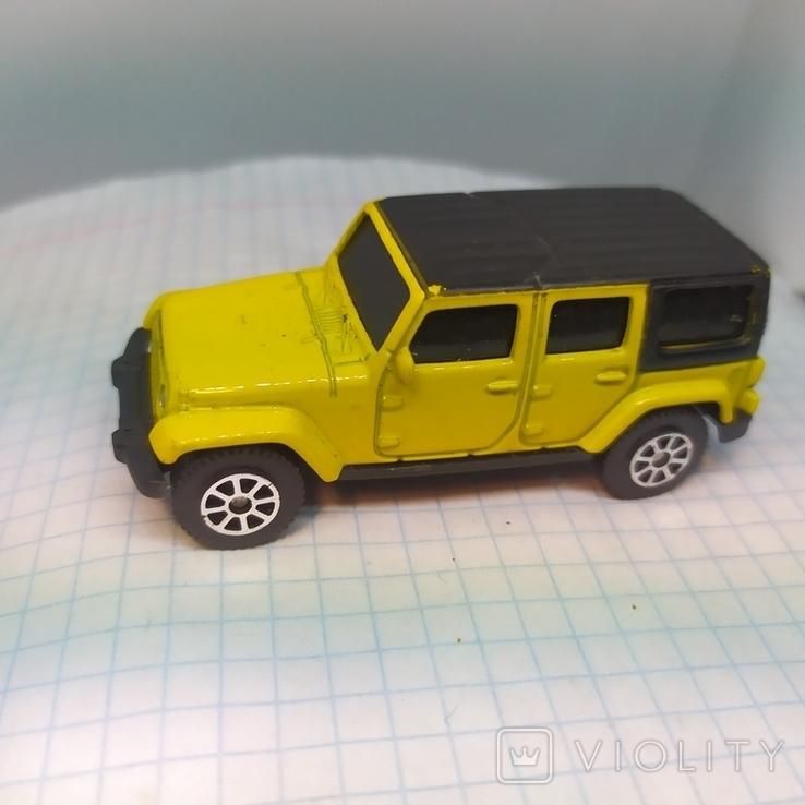 Машинка Jeep Wrangler Unlimited. Maisto  (12.20), фото №4