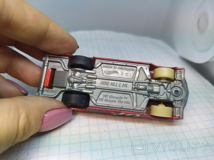 Машинка Chevelle SS Wagon. 2008 Mattel  (12.20), фото №7