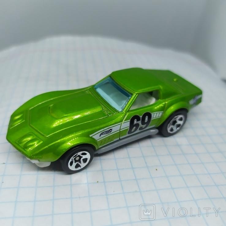 Машинка Copo Corvette. 2010 Mattel  (12.20), фото №4