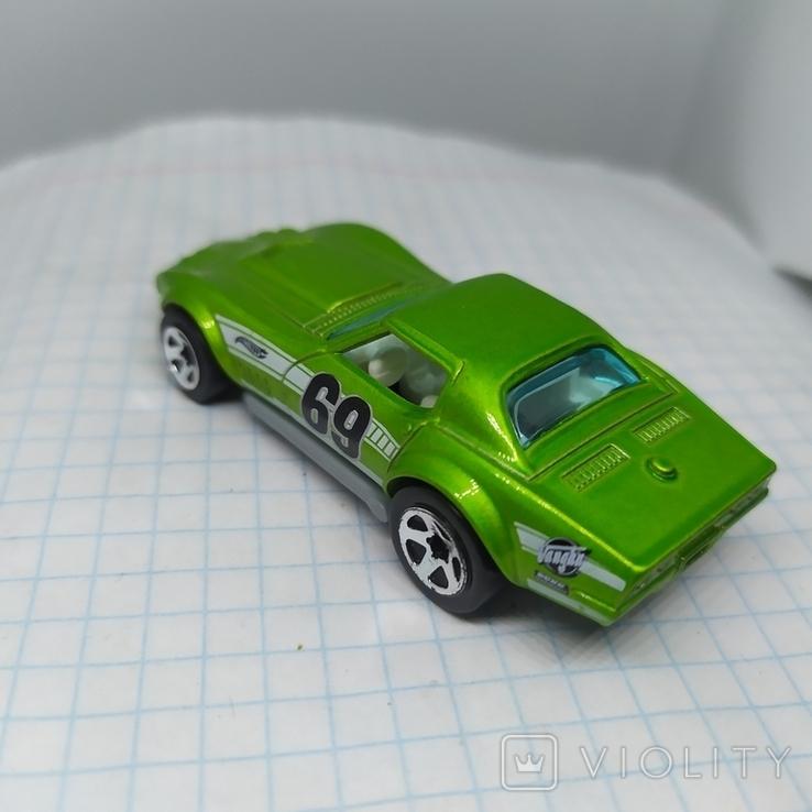 Машинка Copo Corvette. 2010 Mattel  (12.20), фото №5