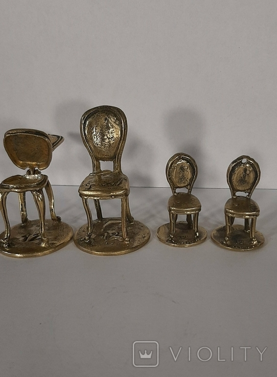 Статуэтка фигурка миниатюра бронза латунь бронзовая латунь, фото №4