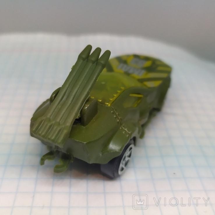 Военная машина с ракетами (12.20), фото №6