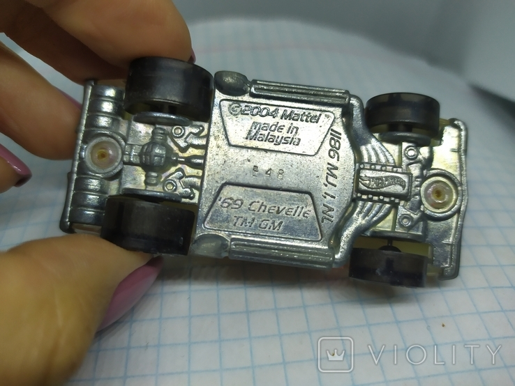 Машинка Chevelle TM GM. 2004 Mattel (9.20), фото №8