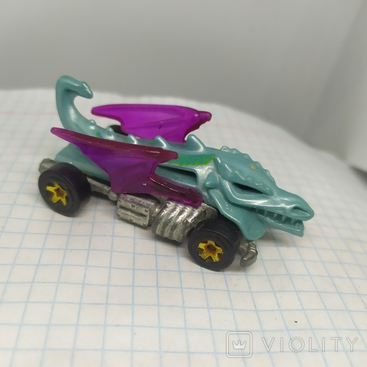 Машинка Дракон. 2009 Mattel, фото №2