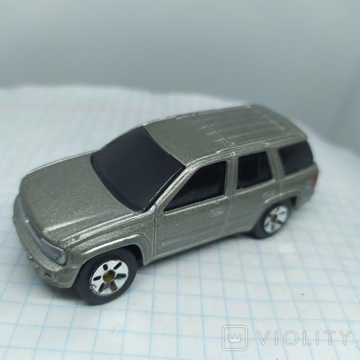 Машинка Chevrolet Trailblazer. Maisto  (12.20), фото №4