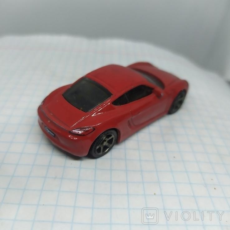 Модель авто Porsche Cayman. 2014 Mattel. Matchbox  (12.20), фото №6