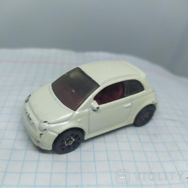 Машинка Fiat 500. 2013 Mattel  (12.20), фото №4