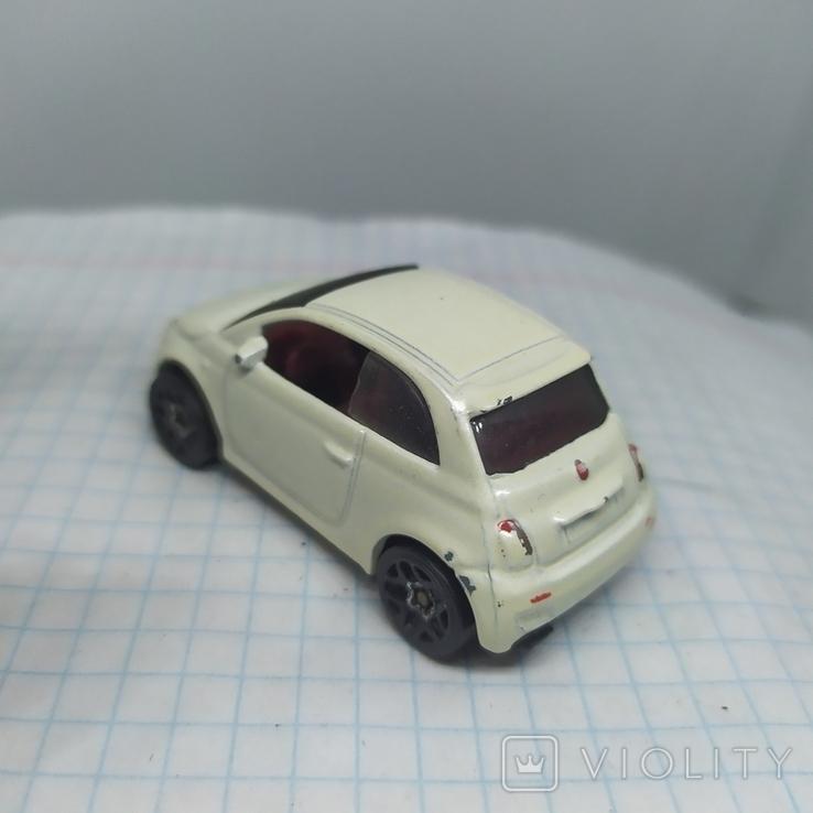 Машинка Fiat 500. 2013 Mattel  (12.20), фото №5