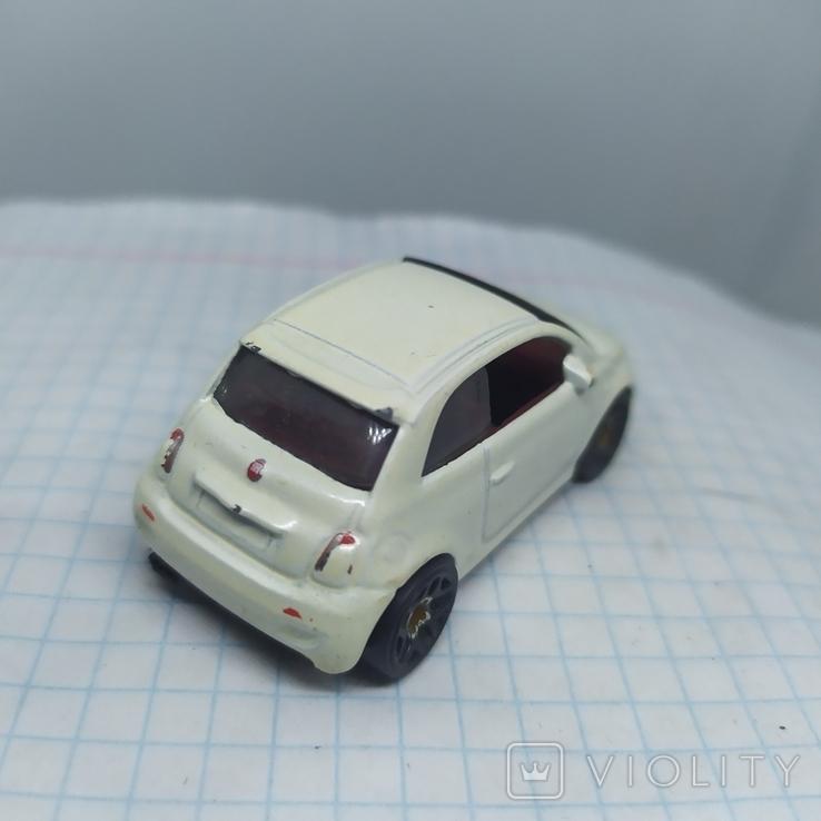 Машинка Fiat 500. 2013 Mattel  (12.20), фото №6