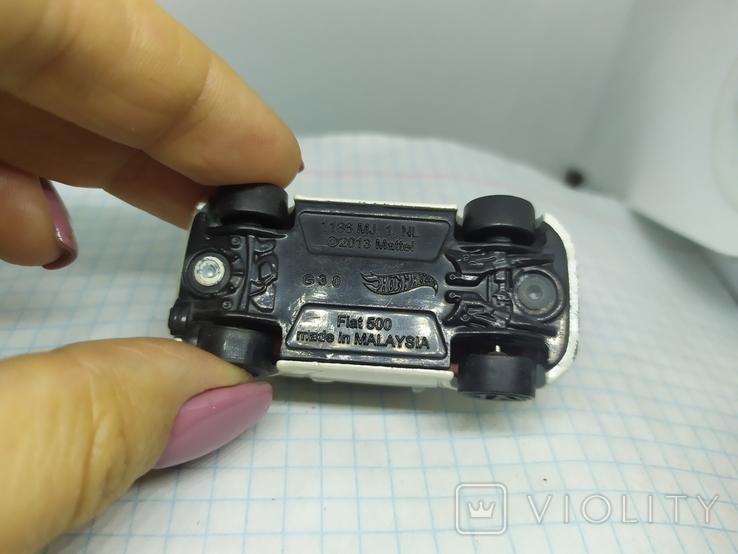 Машинка Fiat 500. 2013 Mattel  (12.20), фото №7