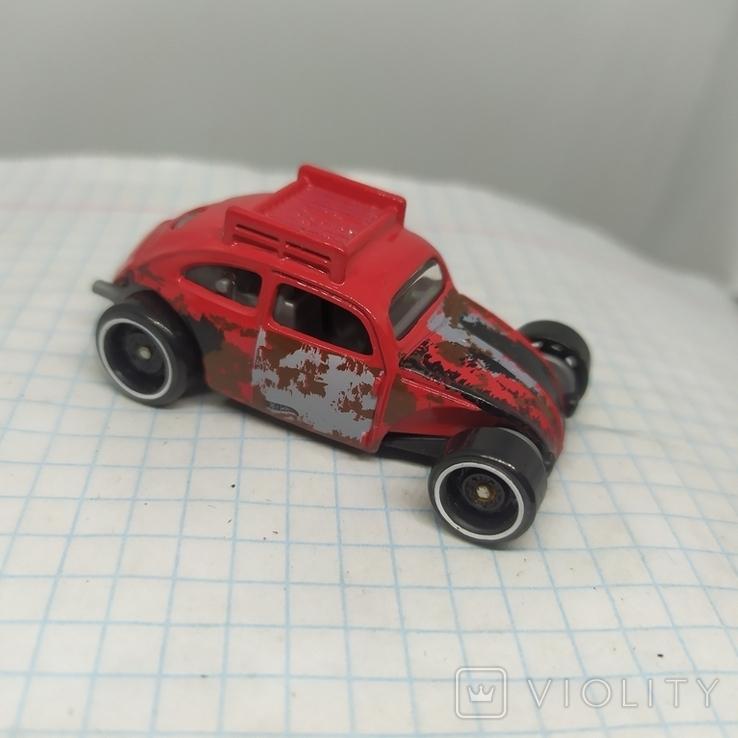 Машинка Volkswagen beetle. 2015 Mattel  (12.20), фото №2