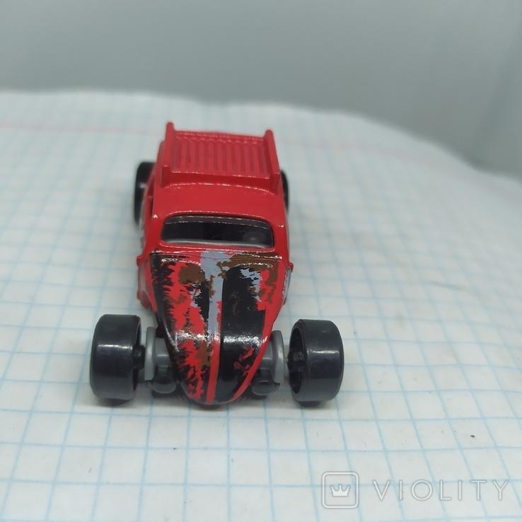 Машинка Volkswagen beetle. 2015 Mattel  (12.20), фото №3