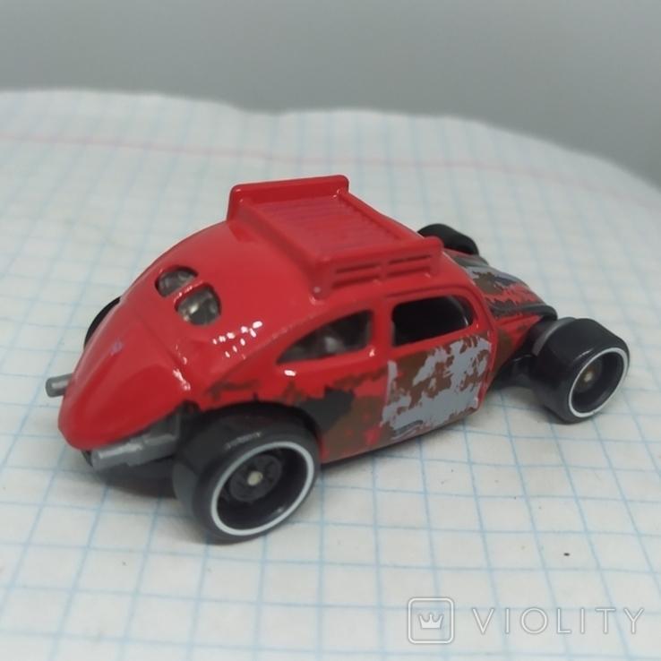 Машинка Volkswagen beetle. 2015 Mattel  (12.20), фото №7