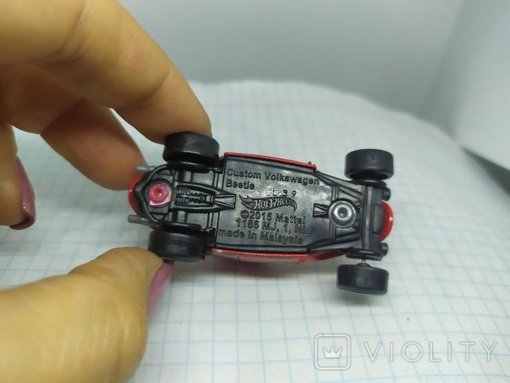 Машинка Volkswagen beetle. 2015 Mattel  (12.20), фото №8