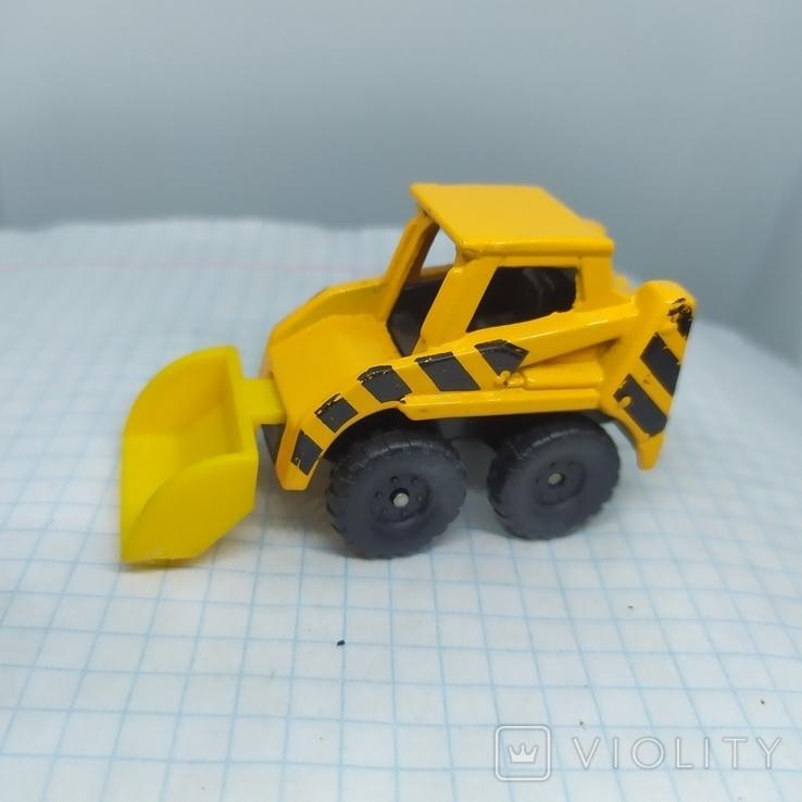 Трактор Бульдозер. Металл. Maisto  (12.20), фото №4