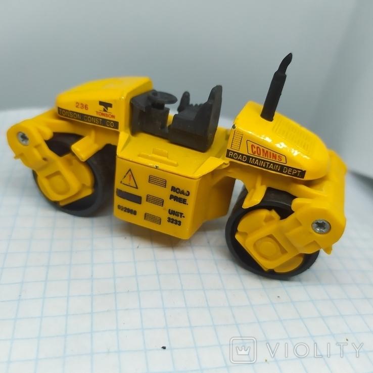 Трактор Каток для асфальта. Металл. Maisto  (12.20), фото №2