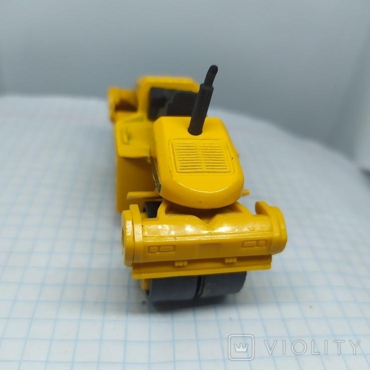 Трактор Каток для асфальта. Металл. Maisto  (12.20), фото №3