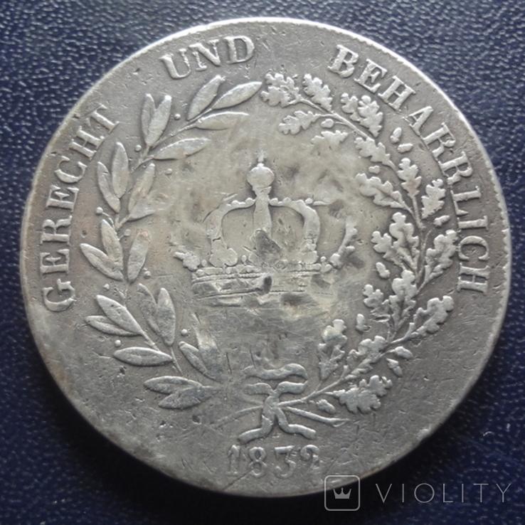 Кроненталер 1832 Людвиг I Бавария серебро  (3.3.7), фото №4