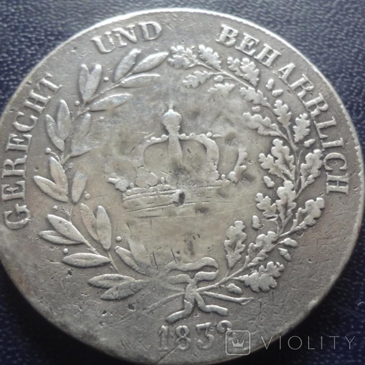 Кроненталер 1832 Людвиг I Бавария серебро  (3.3.7), фото №6