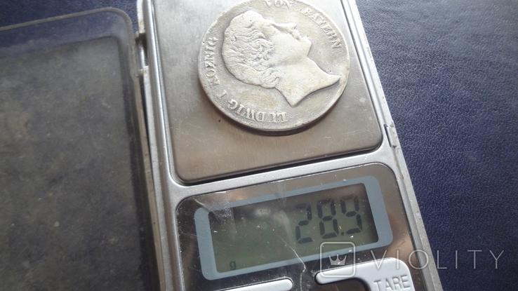 Кроненталер 1832 Людвиг I Бавария серебро  (3.3.7), фото №8